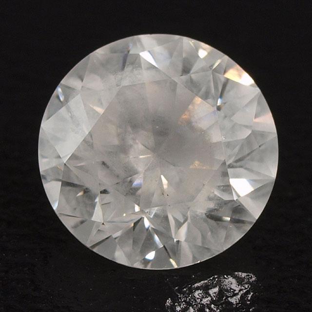 天然ホワイトダイヤモンド ルース(裸石) 0.72ct, Fancy White (ファンシーホワイト), ラウンド・ブリリアント・カット GIAレポート付 【 送料無料 】