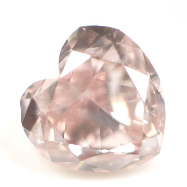 ハートピンクダイヤモンドルース