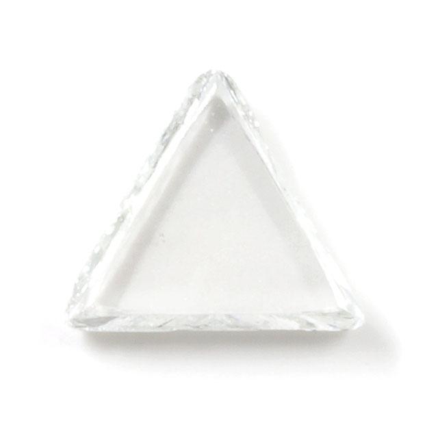 天然ダイヤモンド原石(ラフ) ルース ( 裸石 ) 0.386ct 【マクルと呼ばれる三角形のダイア原石。】 【 送料無料 】
