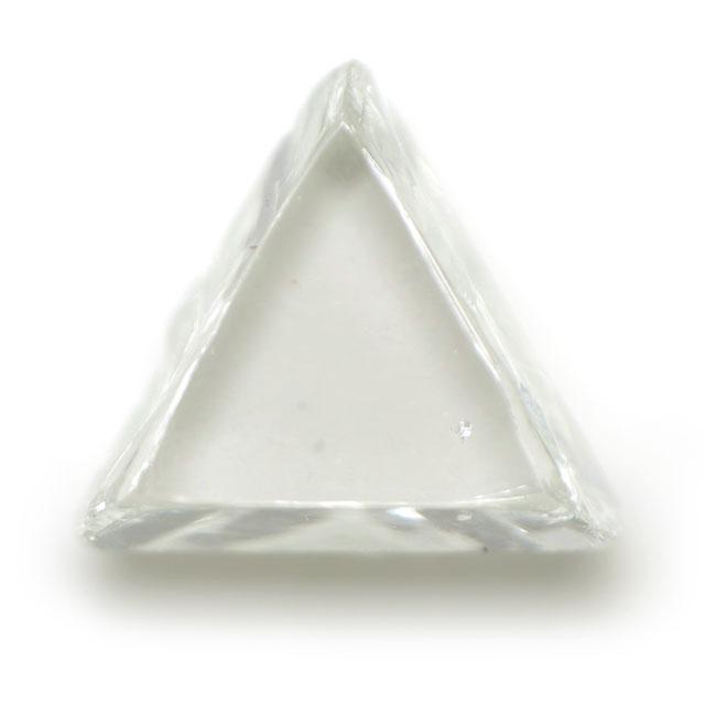 天然ダイヤモンド原石(ラフ) ルース ( 裸石 ) 0.219ct 【マクルと呼ばれる三角形のダイア原石。】 【 送料無料 】