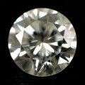 ダイヤモンド ルース 0.375ct, Gカラー, SI-2, GOOD, 中央宝石研究所