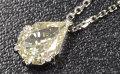 【R-Sカラー】 イエローダイヤモンド ルース 0.584ct 【非常に端正な顔立ちのダイヤです。】