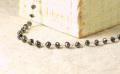ブラックダイヤモンドネックレス