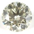 【 O-Pカラー 】 天然ダイヤモンド ルース(裸石) 0.435ct, VS-1, 3EX, H&C 【 AGT 中央宝石研究所 】 【 送料無料 】