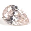 天然ピンクダイヤモンド ルース 0.356ct 【タイプ2-a型のレア・ピンク・ダイヤモンド】 【 中央宝石研究所 】 【 送料無料 】