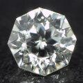 天然ダイヤモンド ルース ( 裸石 ) 0.160ct, Hカラー, SI-1, 八角形 【 中央宝石研究所ソーティング 】 【 送料無料 】