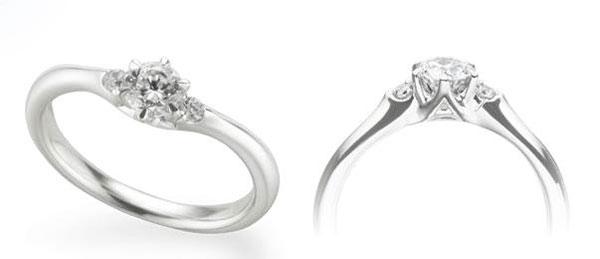 ダイヤモンド婚約指輪エンゲージリング