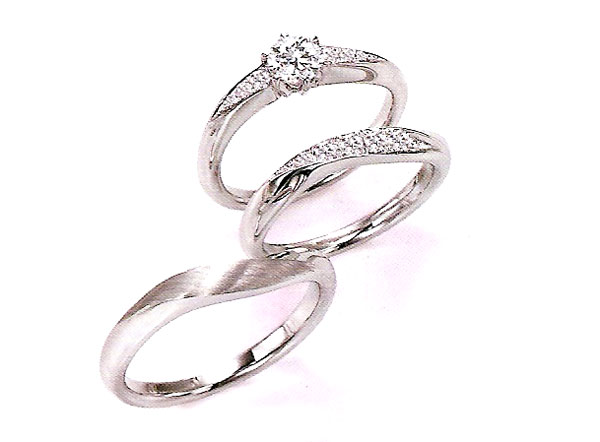 セットリング(婚約指輪&結婚指輪)