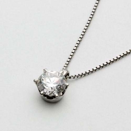 プラチナ ダイヤモンド ペンダント 0.5ct SIクラス Hカラー 鑑定書付 1800-PG12