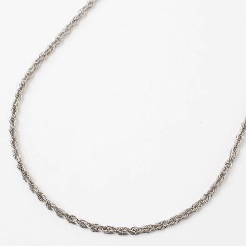 プラチナ850 フリーサイズ チェーン ネックレス クワトロ 50cm 6g 2011-NP12