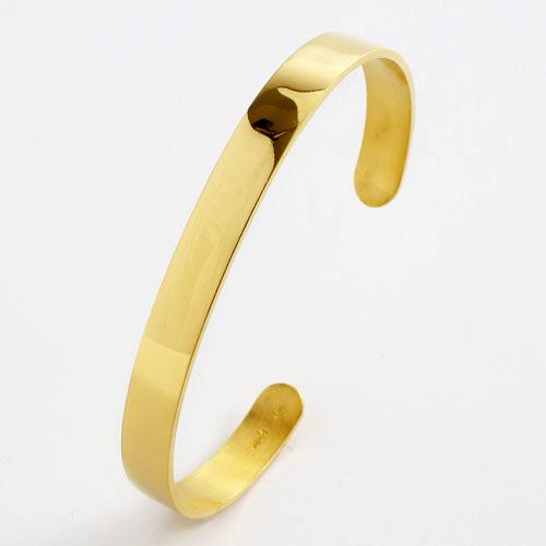 純金 ブレスレット 無垢 造幣局検定刻印入り 3022-BG16