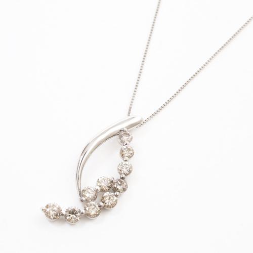 プラチナ Pt900/Pt850 ダイヤモンド 1ct Iクラス ペンダント 星座 3819-HG19