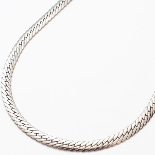 純チタン ネックレス ヘリンボーンデザイン 50cm 0165-NC08