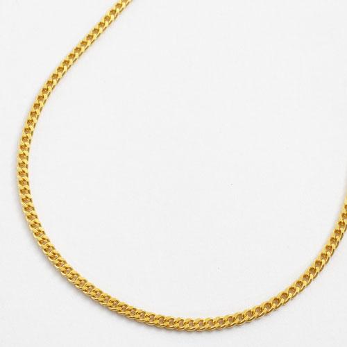 純金 ブレスレット 2面カット キヘイ チェーン 造幣局検定刻印入り 18cm 2.2g K24 0299-BG13
