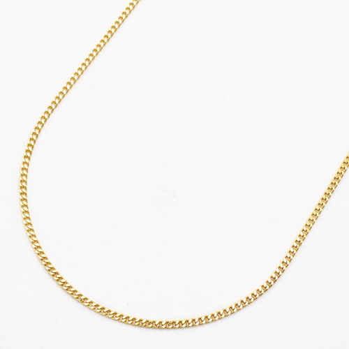 純金 K24 24金 ネックレス 2面カット キヘイ 造幣局検定刻印入 45cm 5.0g 0460-NG13