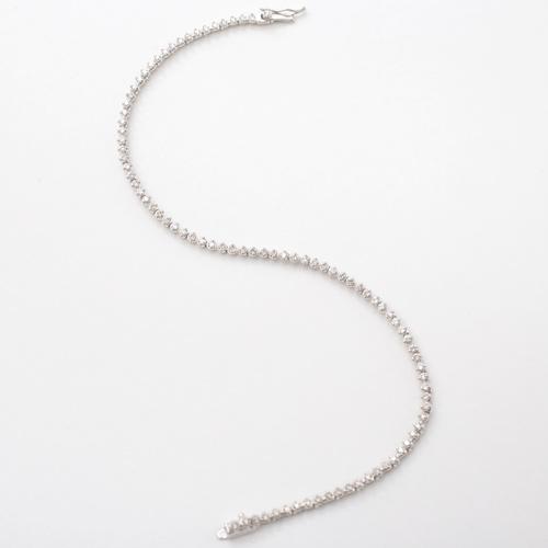 プラチナ Pt850 ダイヤモンド 1カラット ブレスレット 0530-BP08