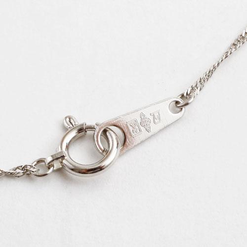 純プラチナ ネックレス 45cm スクリュー チェーン 造幣局検定 刻印入 1062-NP09