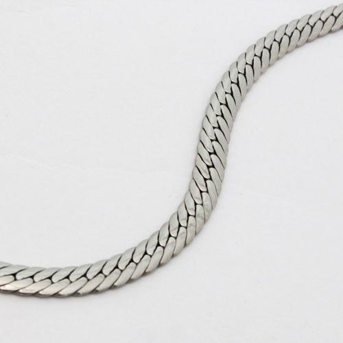 純チタン ヘリンボーン ブレスレット 中折式 1160-NC09