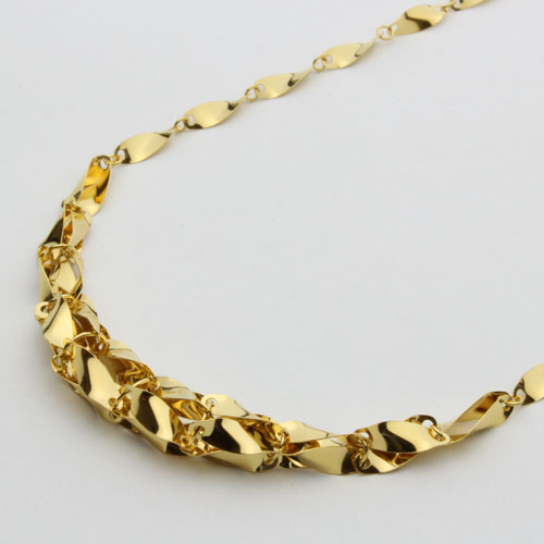 純金 ネックレス グラデーション ウィンザー 45cm 7.5g 1219-NP09