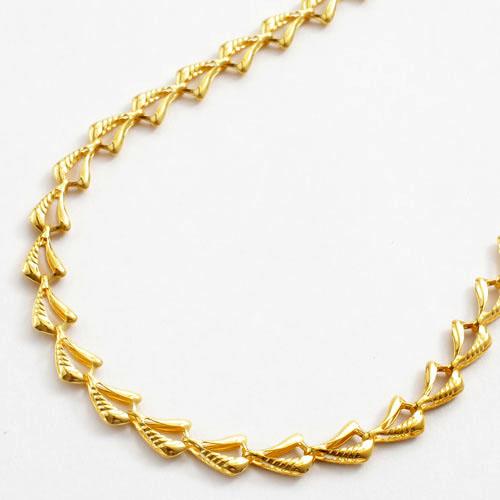 純金 ブレスレット ウェービー 1565-NP11