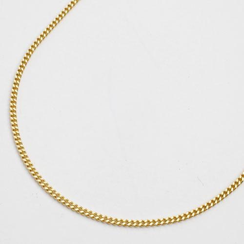 18金 ネックレス 2面カット 喜平 チェーン 50cm 造幣局検定 刻印入 1647-NG11