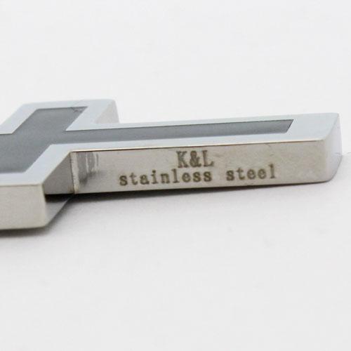 クロス ペンダント(Black&Platinum)ドイツ製 1652-PS11