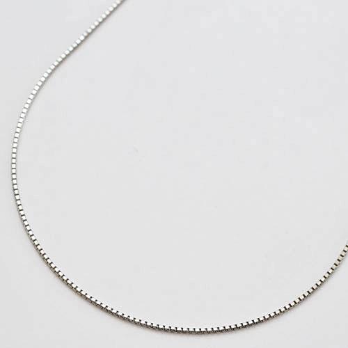 プラチナ フリーサイズ ベネチアンチェーン ネックレス 45cm スライドチェーン 1654-NP11