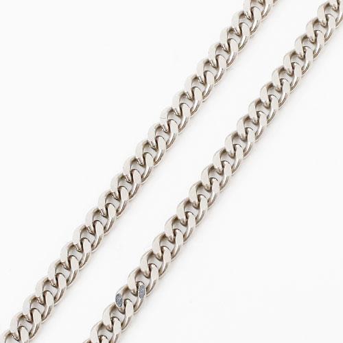 プラチナ850 2面カット 喜平 ネックレス 60cm 10g 1660-NP11