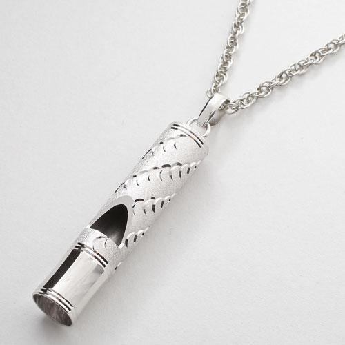 シルバー ホイッスルペンダント ライフセーブ(命の笛) ウェーブ 1706-PS11