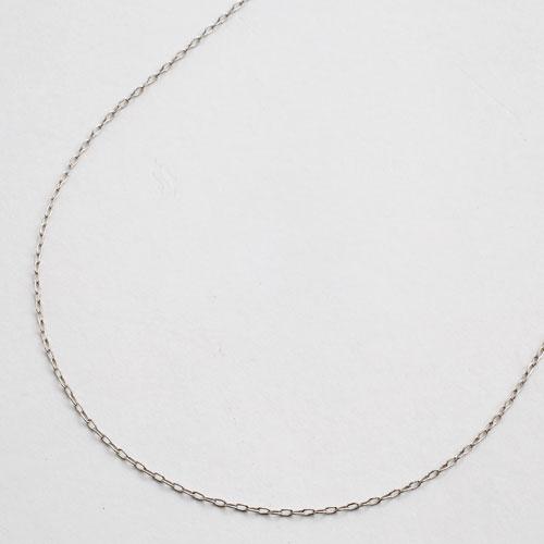 プラチナ ネックレス フリーサイズ 小豆 チェーン Pt850刻印入り 45cm 1.1g 1748-NP11