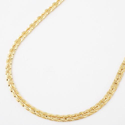 純金 24金 K24 リバーシブル チューリップ ネックレス 42cm 7g 1821-NG12
