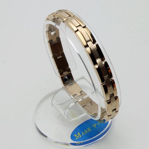 男女兼用 純チタン MARE ブレスレット  ゴールド仕上げ(純度99.99%ゲルマニウム入) 1900-BT12