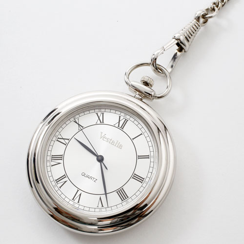 日本製 懐中時計 銀無枠 シルバー925 1931-WS12