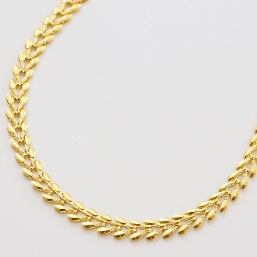 純金 ネックレス エターナルハート デザイン K24 45cm 2020-NP13
