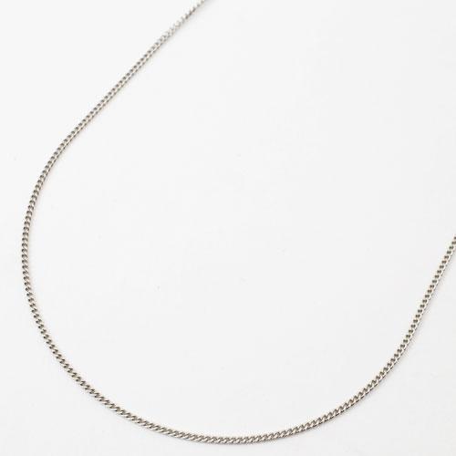 プラチナ850 フリーサイズ チェーン ネックレス 2面カットキヘイ 50cm 2g 2026-NP13