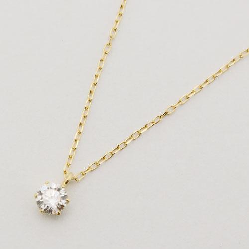 K18 ダイヤモンド ペンダント VSクラス以上 Gカラー以上 0.15ct 2035-PG13