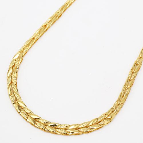 純金 ネックレス デラックスチューリップ K24 11.1g 45cm 2143-NP14