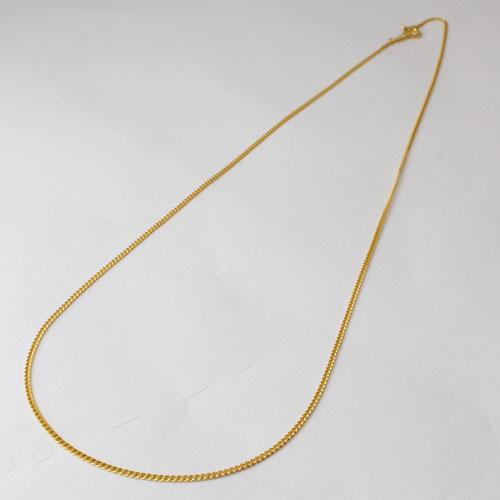 純金 ネックレス 2面カット キヘイ チェーン 45cm 3g K24 2170-NG14