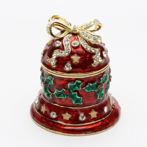 ジュエリーケース ベル 宝石箱 クリスマス ジュエリーボックス 2184-JC14