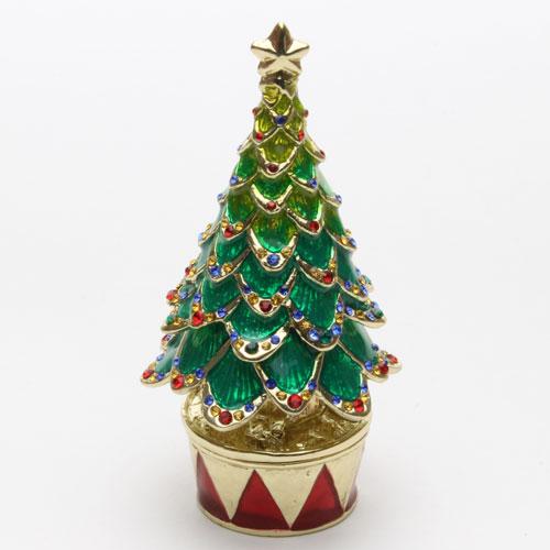 ジュエリーケース モミの木 宝石箱 クリスマス ジュエリーボックス   2185-JC14
