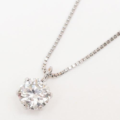 プラチナ ダイヤモンド 0.33ct以上 SIクラス/Iカラー ペンダント ネックレス 2403-PP15
