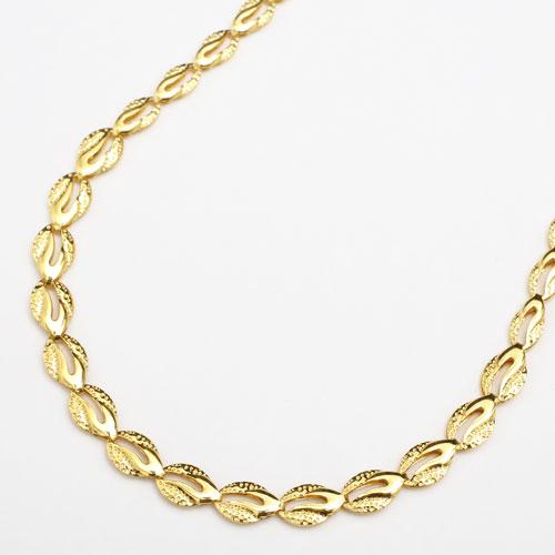 純金 24金 K24 ナチュレ チェーン ネックレス リバーシブル 43cm  2427-NG15