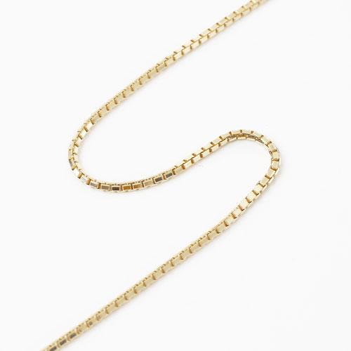10金 ベネチアン 42cm 1.4g チェーン ネックレス 2495-NG16