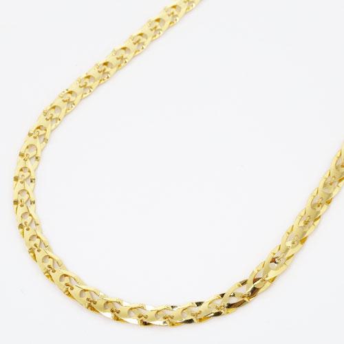 純金 K24 24金 ステアーズ セミハンドメイド ネックレス 45cm 4.4g 2829-NG15