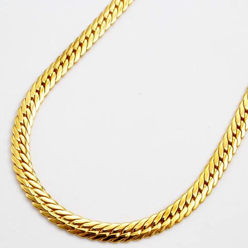 チタン ヘリンボーン ネックレス キヘイ 50cm 中折式 3005-NC16