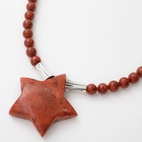 コーラル ネックレス 海の宝石 パッションコーラル・スター 3578-FS20