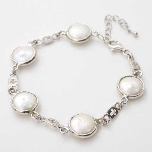 シルバー SV925 淡水真珠 淡水パール ネックレス アクセサリー 3583-FS20