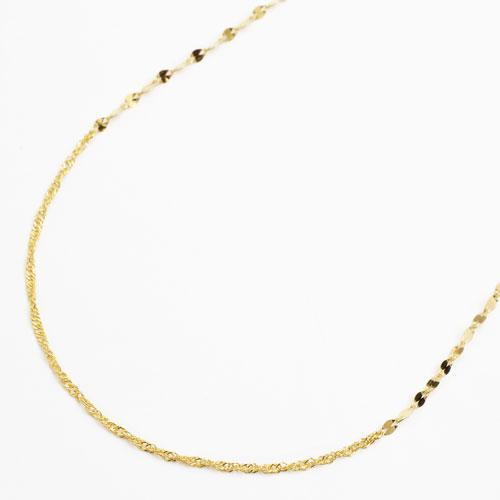 純金 K24 24金 ペダル スクリュー 42cm 1.8g 3672-NM17