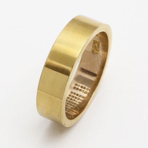 純金 リング(指輪) 般若心経 K24 3719-TH17