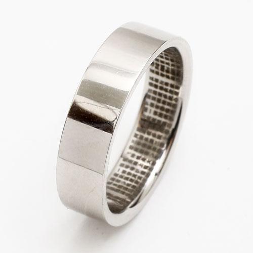 純プラチナ リング(指輪) 般若心経 Pt999 3720-TH17